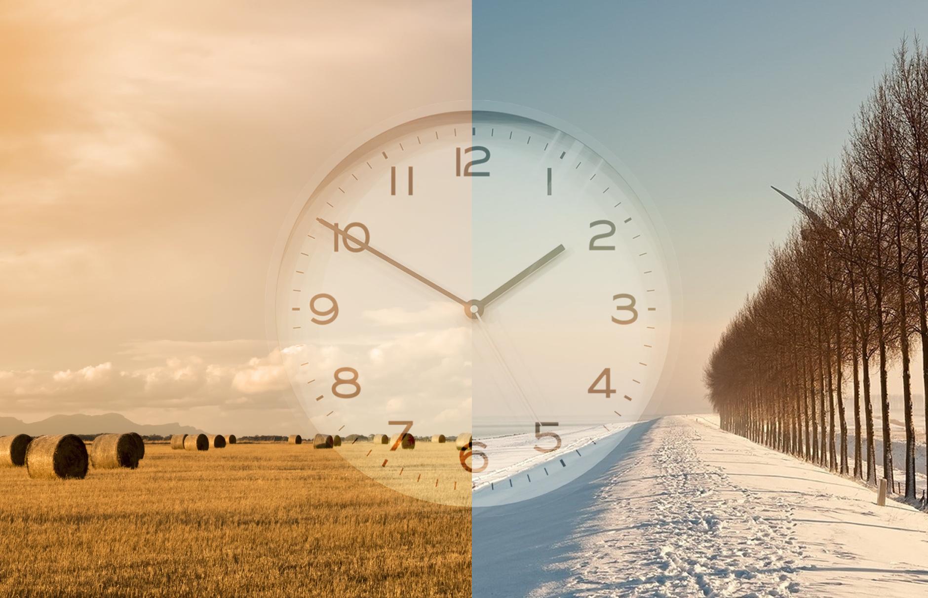 Merkenhorloge zomer en winter tijd