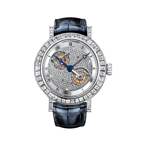 Brequet Platinum Double Tourbillon cristiano ronaldo horloge