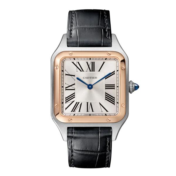 Cartier Santos horloge van Justin Bieber