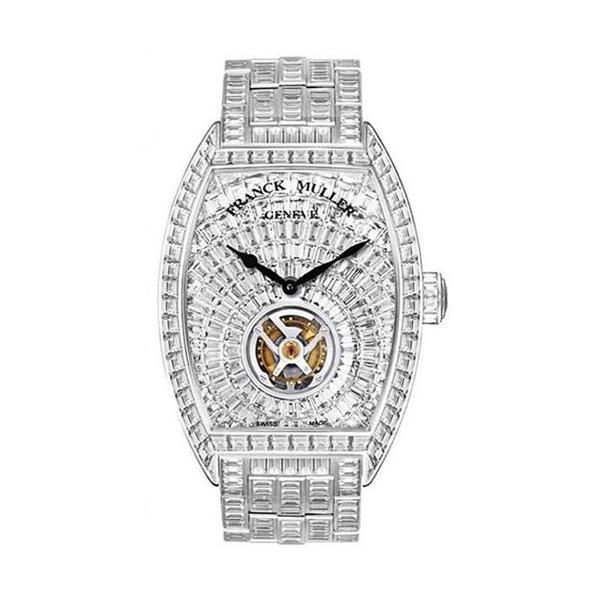 Horloge van Cristiano Ronaldo Franck Muller Cintree Tourbillon