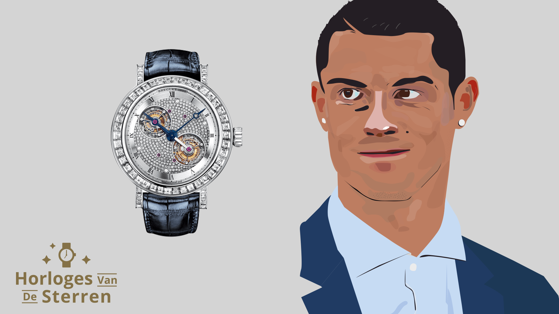 Dit zijn de exclusieve horloges van voetballer Cristiano Ronaldo