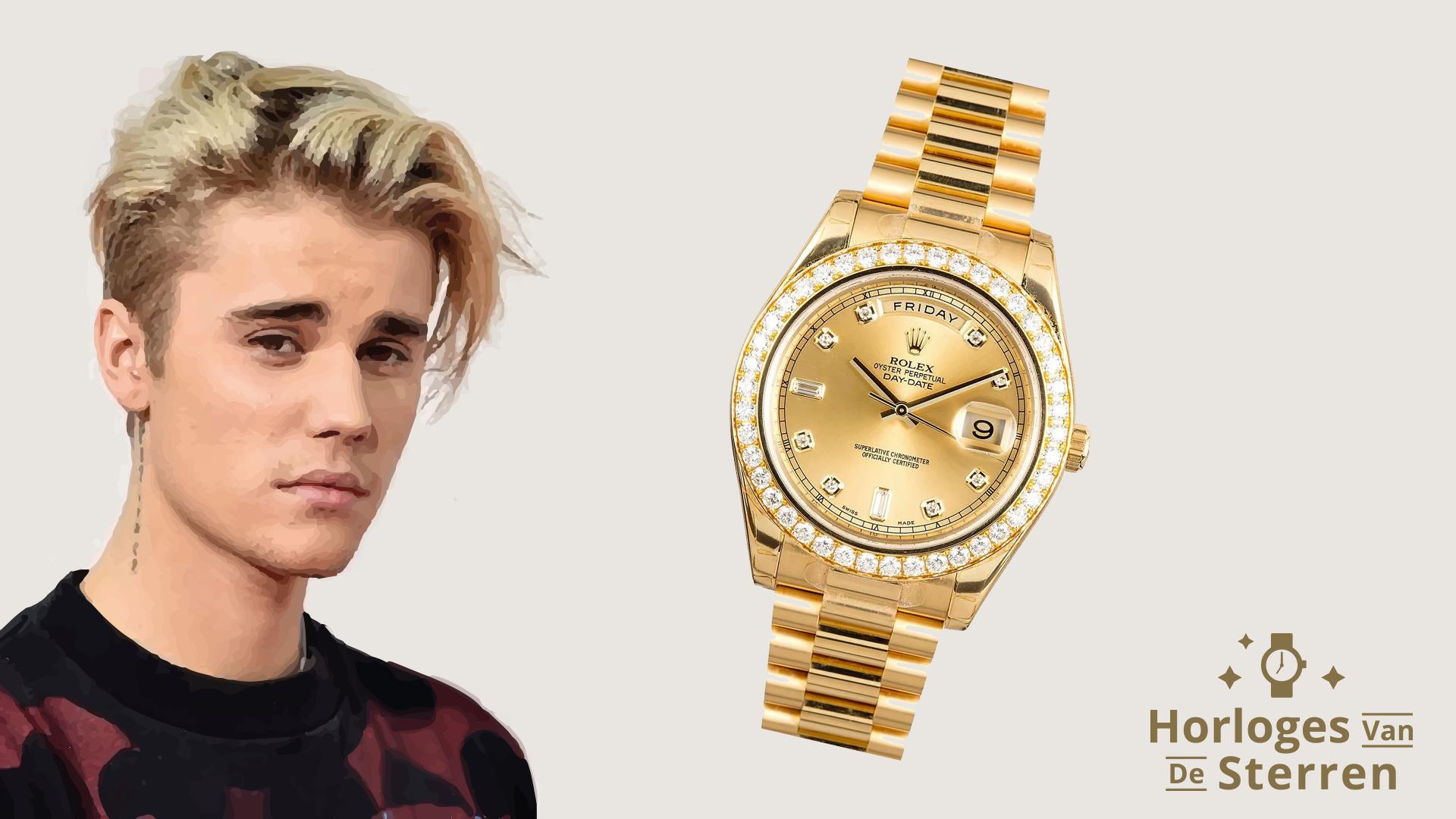 Horloges van de Sterren Justin Bieber