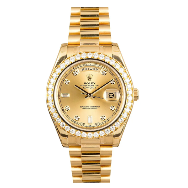 Rolex Day Date 2 gouden horloge van Justin Bieber